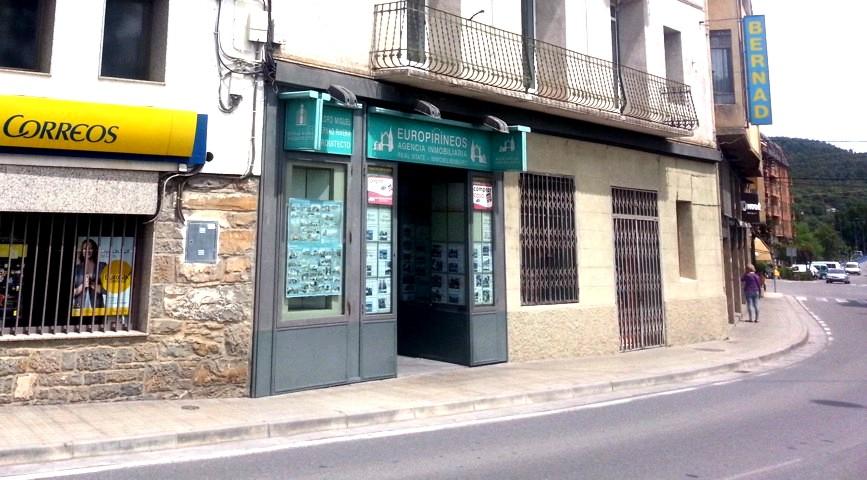 Alquiler de local c ntrico en a nsa europirineos agencia for Oficina turismo ainsa