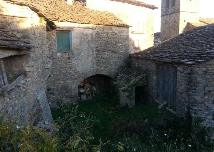 Gran casa tradicional de piedra y losa europirineos agencia inmobiliaria casas pirineos - Inmobiliaria gran casa ...