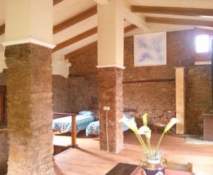 Casa mediterránea rehabilitada cerca Sierra de Guara