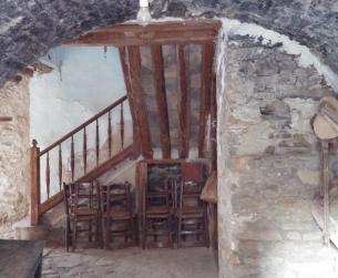 Gran casa tradicional con jardín a rehabilitar en venta en Boltaña