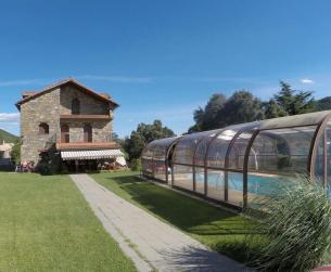 Gran vivienda unifamiliar con terreno en venta en Boltaña