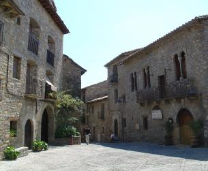 Casa tradicional en venta en el casco antiguo de Aínsa
