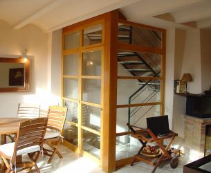 Chalet adosado con gran terraza en Boltaña en venta