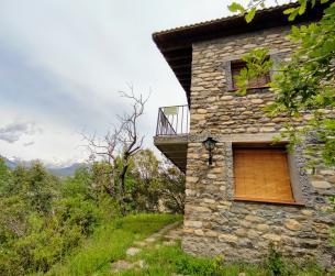Casa tradicional en venta en Añisclo junto al Parque Nacional de Ordesa