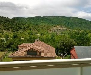 Bonito apartamento en Ainsa con vistas a montaña y río en venta