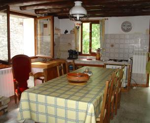 Casa tradicional con jardín junto a Parque Nacional de Ordesa