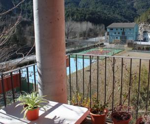 Magnífico duplex con terraza y chimenea en el Valle del Cinca