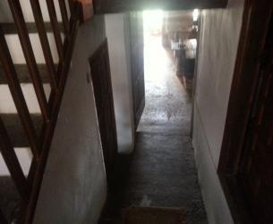 Casa con vivienda, locales y huerto en la plaza mayor de Aínsa
