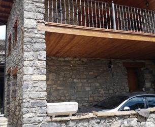 Pajar a rehabilitar en el Parque Nacional de Ordesa y Monte Perdido