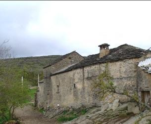 Casa de piedra y losa a rehabilitar en Sierra de Guara