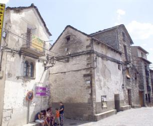 Casa tradicional a la entrada de Parque Nacional de Ordesa y Monte Perdido