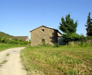 Casa tradicional en piedra, próxima a Aínsa