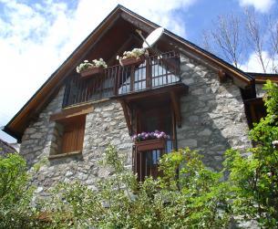 Casa en alta montaña