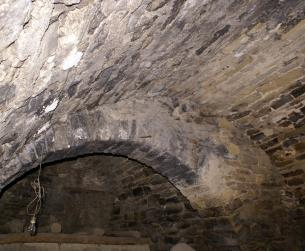 Castillo a rehabilitar en Graus, comarca de Ribagorza
