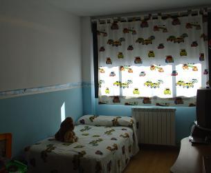 Tres dormitorios amplios.
