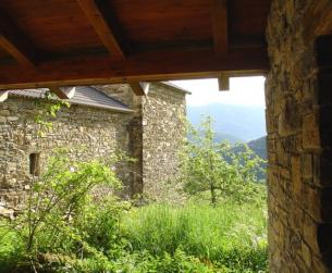 Casa Tradicional en el Parque Nacional de Ordesa y Monte Perdido
