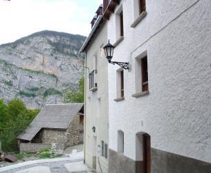 Casa tradicional en el Valle de Chistau