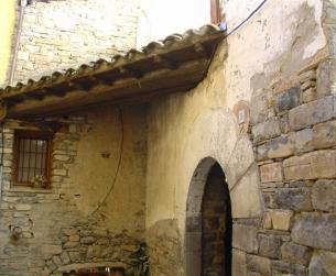 Casa tradicional de piedra con terreno cerca de Ainsa