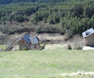Solar a la entrada al Parque Nacional de Ordesa