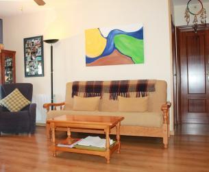 Apartamento seminuevo con vistas al río junto al Monasterio de Boltaña