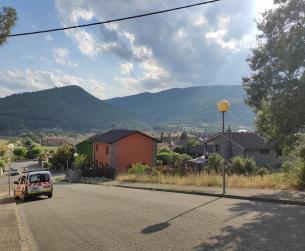 Gran solar en zona residencial de Boltaña