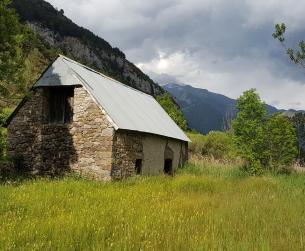 Borda en el Valle de Pineta