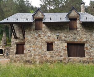 Vivienda unifamiliar a la entrada del Parque Nacional de Ordesa y Monte Perdido