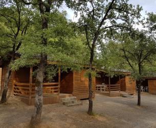 Camping en zona del Parque Nacional de Ordesa