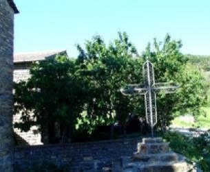 Casita de nueva contrucción de piedra, de 60 m2 de superficie aproximada.