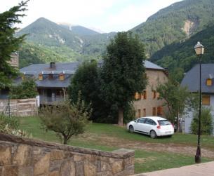 Vivienda muy bien conservada en valle virgen del Pirineo Central