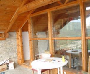 Casa tradicional totalmente rehabilitada junto al pantano de Mediano